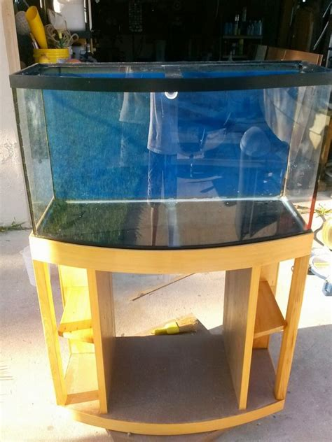 Diy 46 Gallon Bow Front Stand Amazon