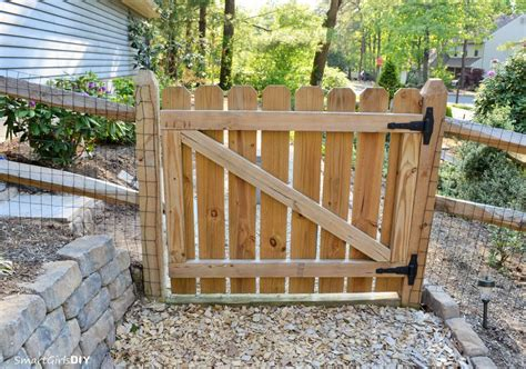 Diy 4x4 Wooden Gate