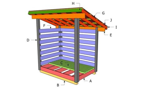 Diy 4x6 Shed Plan