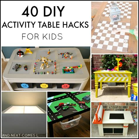 Diy Activity Table For Toddlers