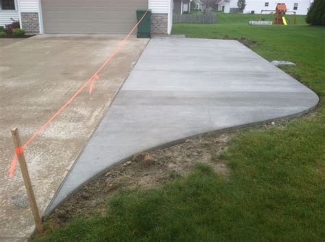 Diy Addition To Driveway
