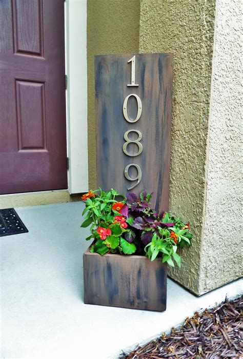 Diy Address Sign