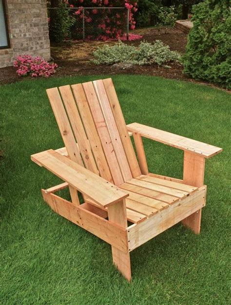 Diy Adirondack Chair From Pallets