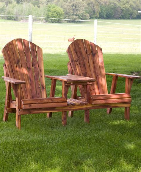 Diy Adirondack Chairs Table Combo