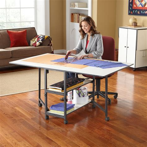 Diy Adjustable Height Sewing Table