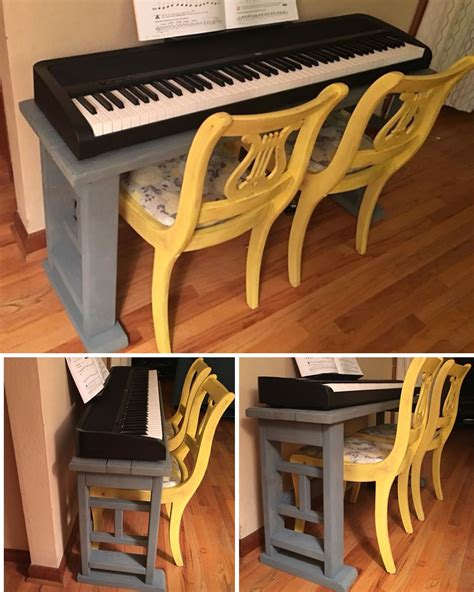 Diy Adjustable Piano Bench