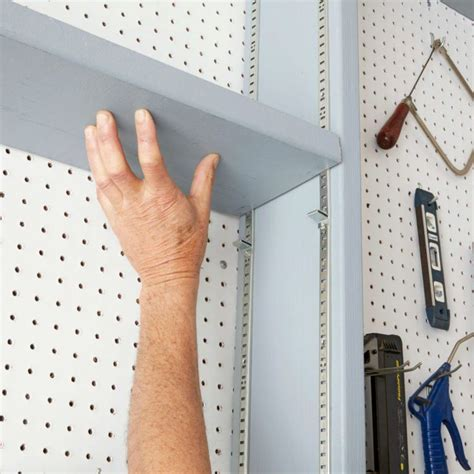 Diy Adjustable Shelving