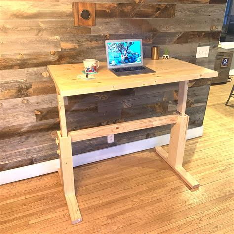 Diy Adjustable Sit Stand Desk
