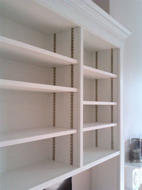 Diy Adjustable Wood Shelving Systems