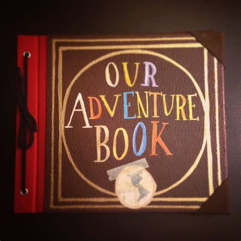 Diy Adventure Book From Up