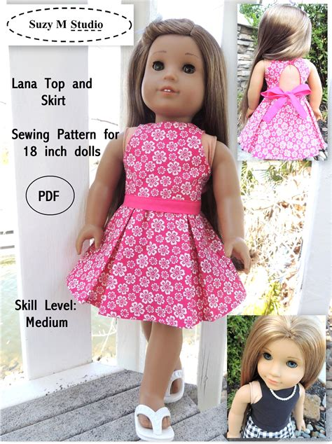 Diy Ag Doll Clothes Free Patterns