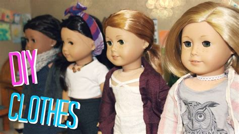 Diy Ag Doll Clothes No Sew No Glue