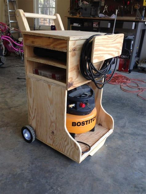 Diy Air Compressor Caddy