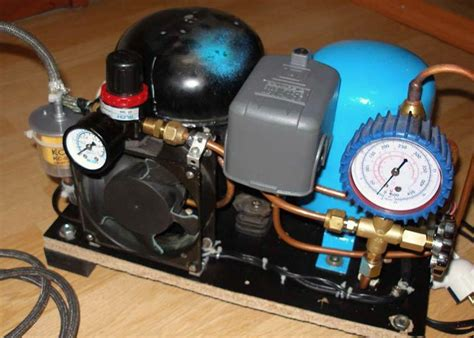 Diy Air Compressor Made From An Engine