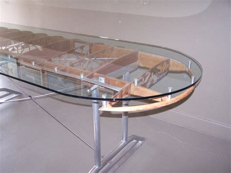 Diy Airplane Wing Table Furniture