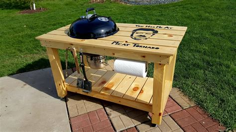 Diy Akorn Grill Table