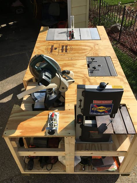 Diy All In One Woodworking Table Saw