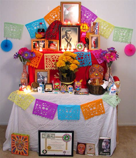 Diy Altar For Day Of The Dead