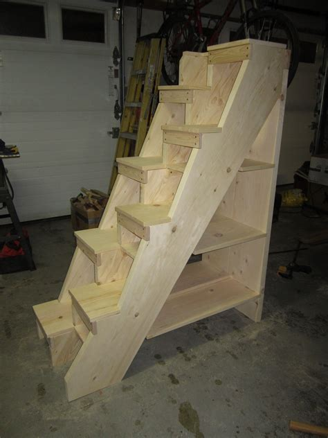 Diy Alternating Tread Stairs Residential