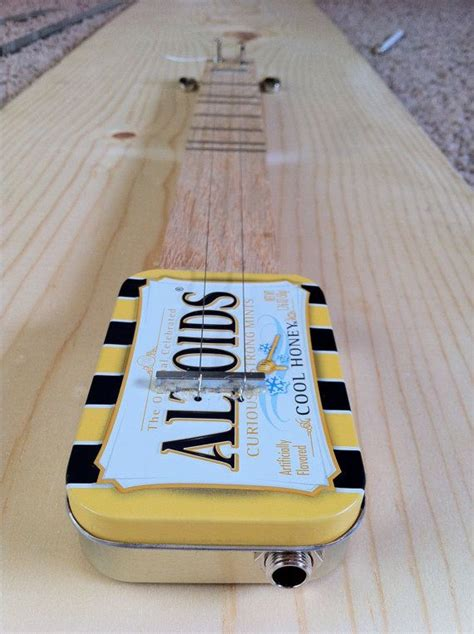 Diy Altoids Guitar