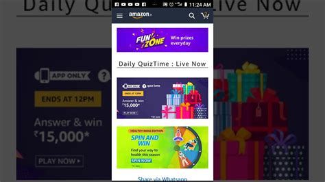 Diy Amazon Quiz Today