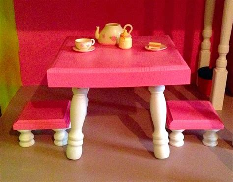 Diy American Doll Kitchen Table