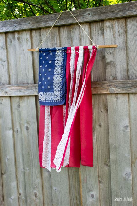Diy American Flag Crafts