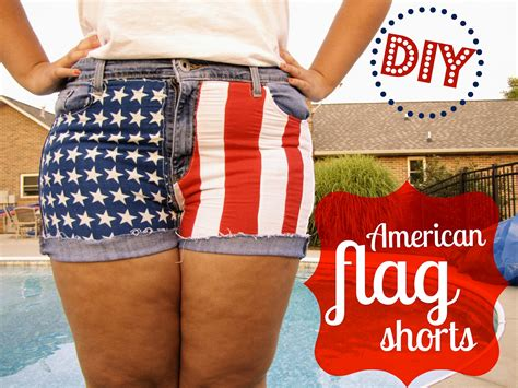 Diy American Flag Shorts