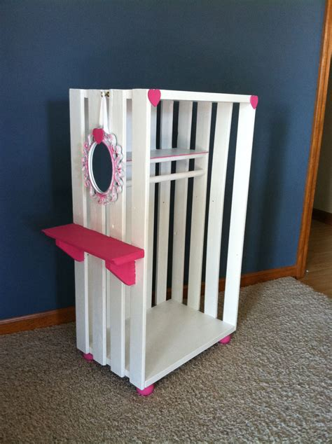 Diy American Girl Closet Plans