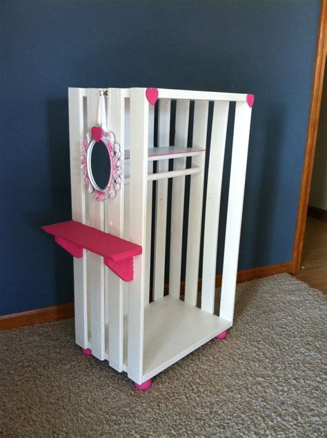 Diy American Girl Clothes Closet