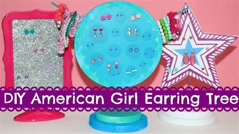Diy American Girl Doll Earring Tree