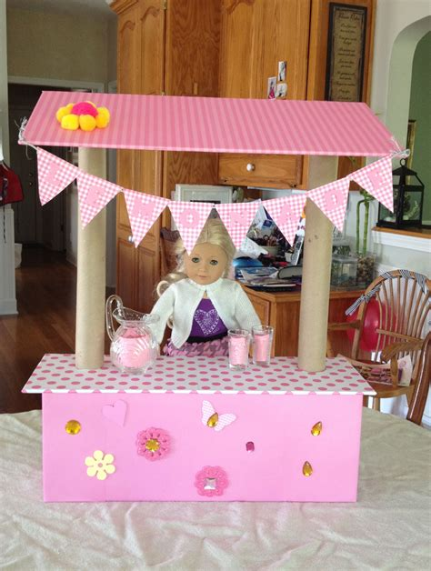 Diy American Girl Doll Stand Mirror