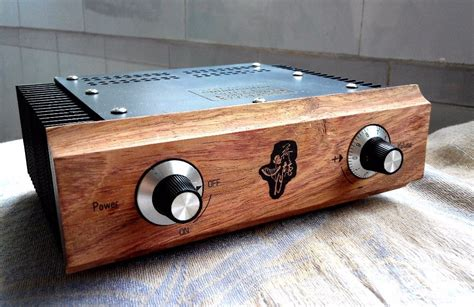 Diy Amp Chassis Wood