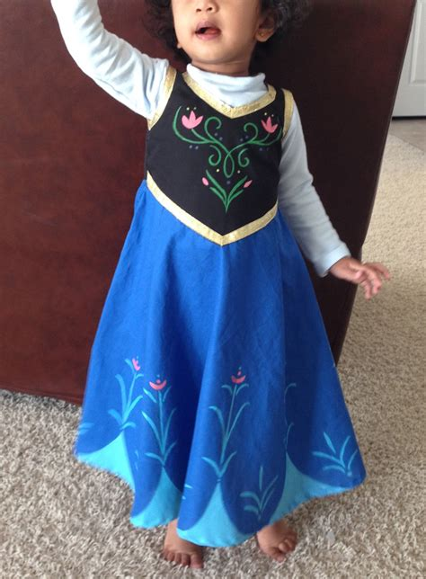 Diy Anna Costume Easy