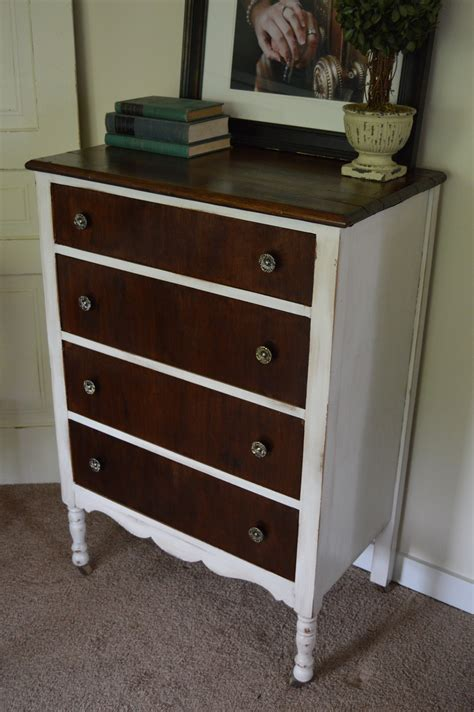 Diy Antique White Dresser