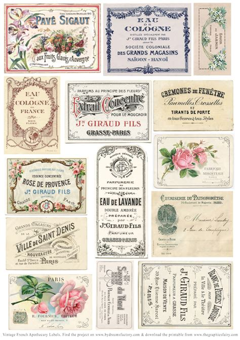 Diy Apothecary Labels Template