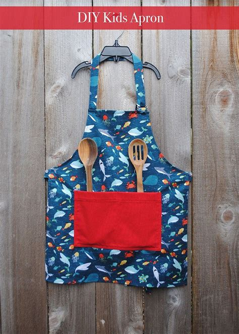 Diy Apron For Kids