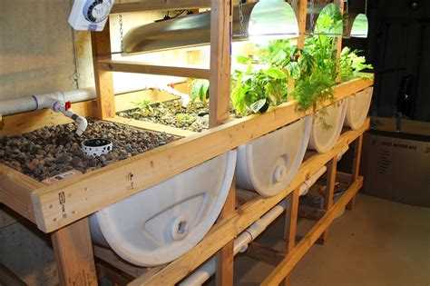 Diy Aquaponics Grow Bed