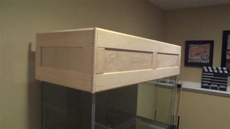 Diy Aquarium Hinged Wood Canopy Youtube Downloader