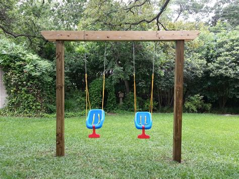 Diy Arbor Swing Frame Using 4 X 4 Posts
