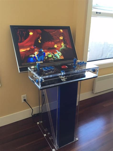 Diy Arcade Cabinet Lexan Screen