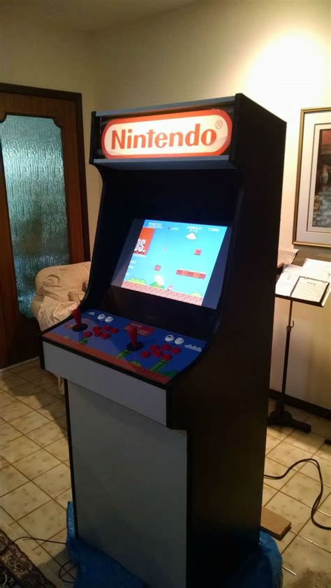Diy Arcade Machine Cabinet