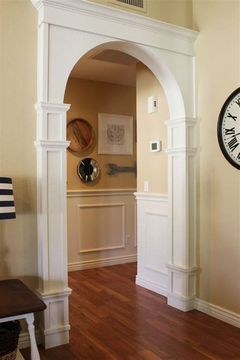 Diy Arched Door Casing