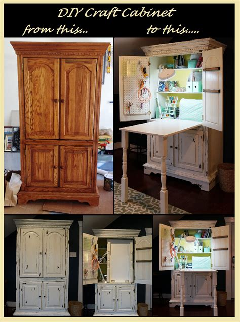 Diy Armoire To Craft Cabinets