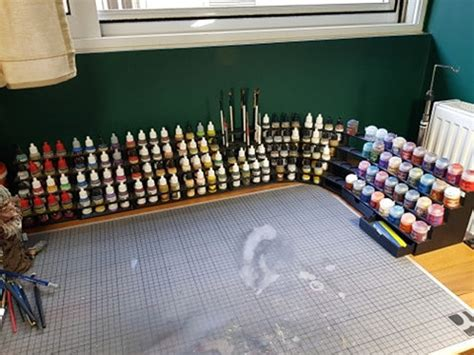 Diy Army Painter Paint Rack Manufacturing