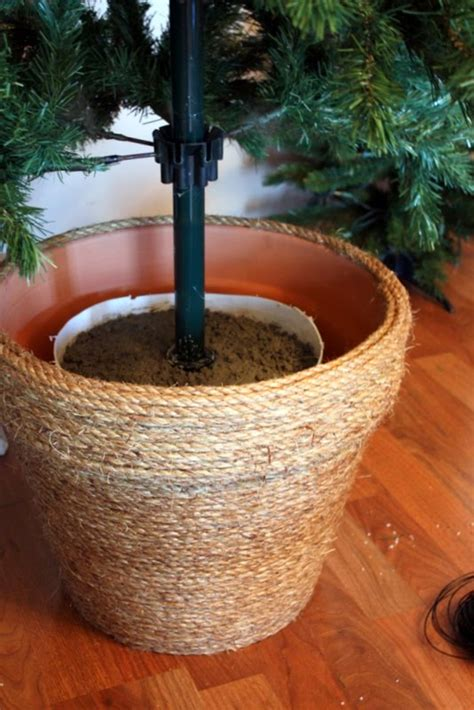 Diy Artificial Christmas Tree Stand
