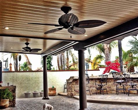 Diy Attached Patio Covers With Columns