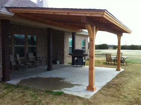 Diy Attached Patio Roof