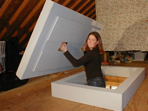 Diy Attic Stairs Insulator Covers