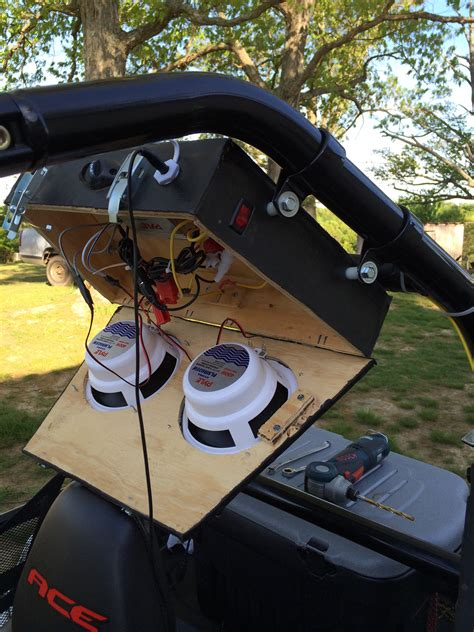 Diy Atv Stereo Box